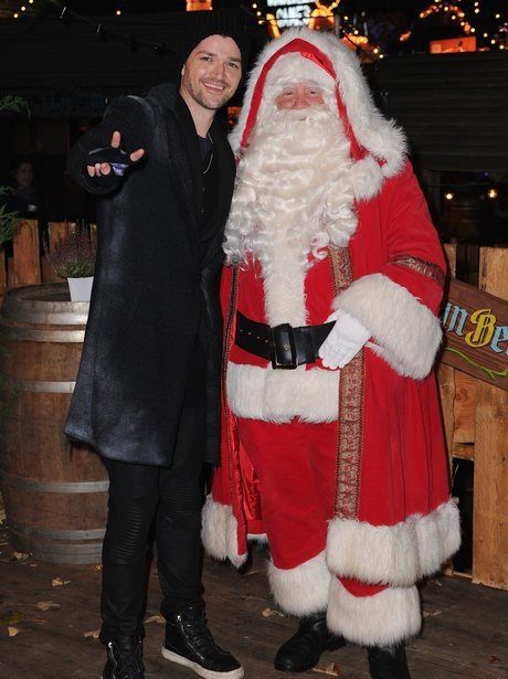 Danny O'Donoghue attends the Winter Wonderland