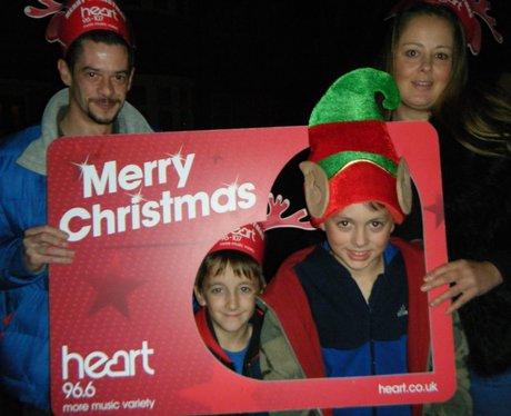 Dave Edwards Christmas Light Switch On 2014