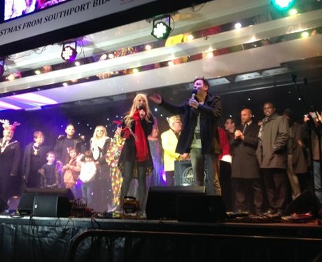Heart Angels: Southport Christmas Lights Switch On
