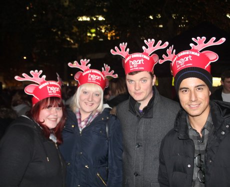 Heart Angels: Swindon Christmas Light Switch On (T