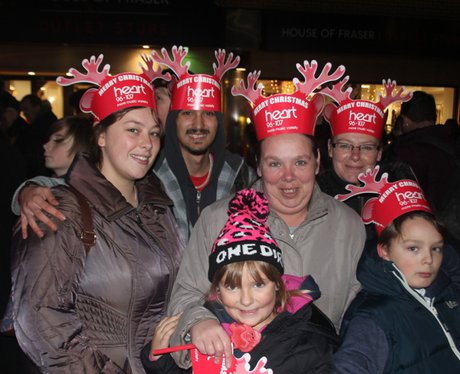 Heart Angels: Swindon Christmas Light Switch On (T