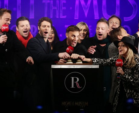 Heart Regent Street Christmas Light with Take That