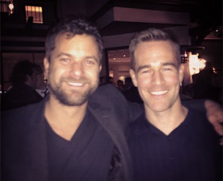 James Van Der Beek and Joshua Jackson meet up