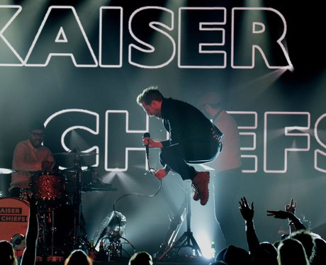 Kaiser Chiefs Global Make Some Noise Evening 2014