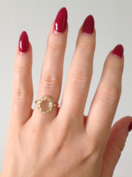 Kimberley Walsh's Engagement Ring