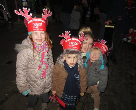 Northampton Borough Christmas Light Switch-On