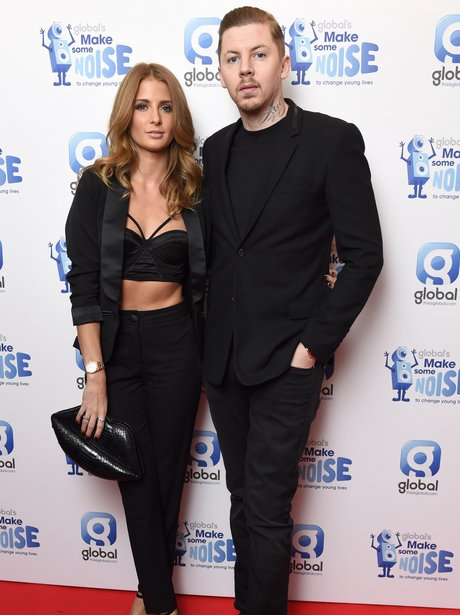 Professor Green and Millie Mackintosh at Global Ma