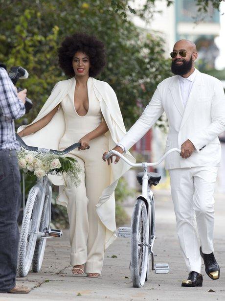 Solange Knowles and Alan Ferguson wedding