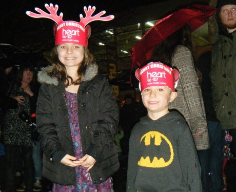 St Albans Christmas Light Switch On 2014