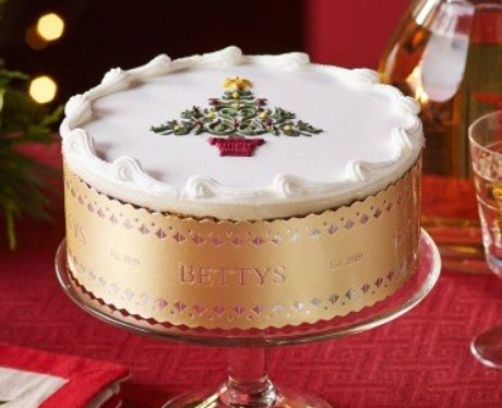 Bettys royal iced christmas cake the 11 best for Iced christmas cakes