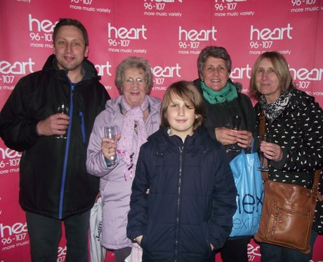 Heart Angels: Ladies Lounge at Clarks Village (Thu