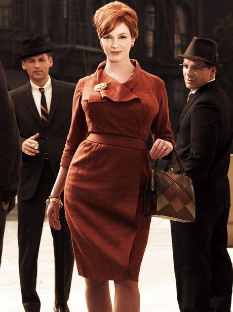 Mad Men Christina Hendricks Fashion