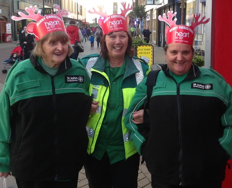 paramedics in heart antlers