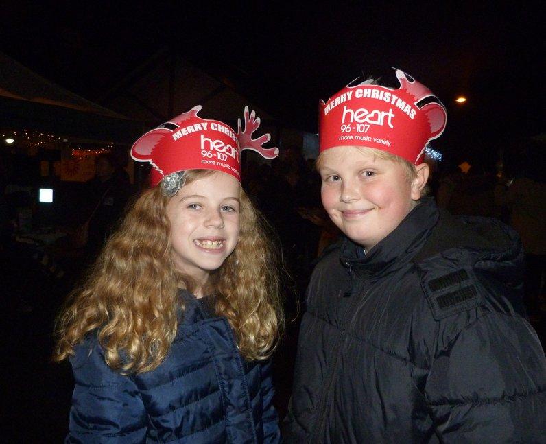 Sawbridgeworth Light Switch On (28 November 2014)