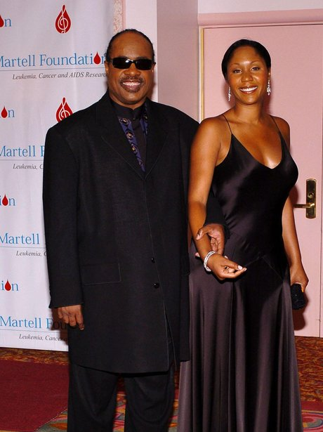 Stevie Wonder and Daughter Aisha