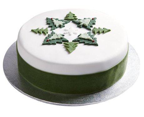 Iced Christmas Cakes To Buy