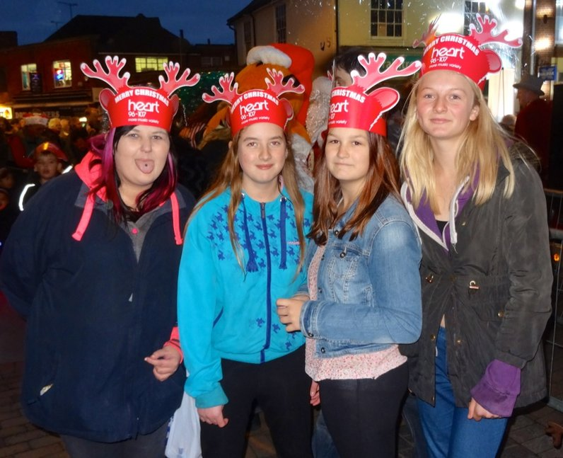 Braintree Town Center Light Switch On (30 November