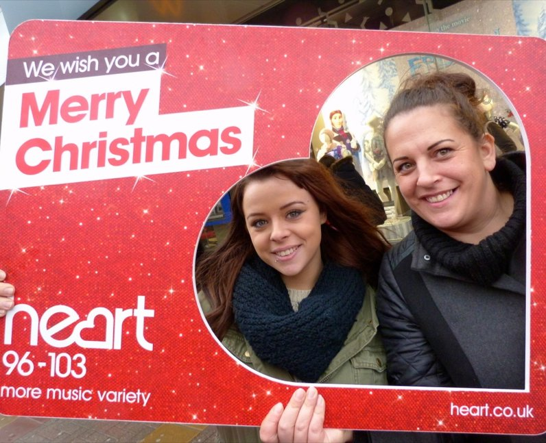 Heart Angels Out And About In Harlow (2 December 2