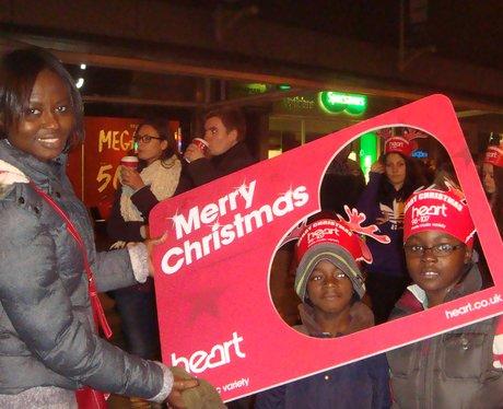 Hemel Hempstead Christmas Lights Switch On 2