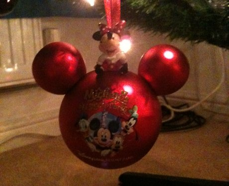 mickey mouse bauble