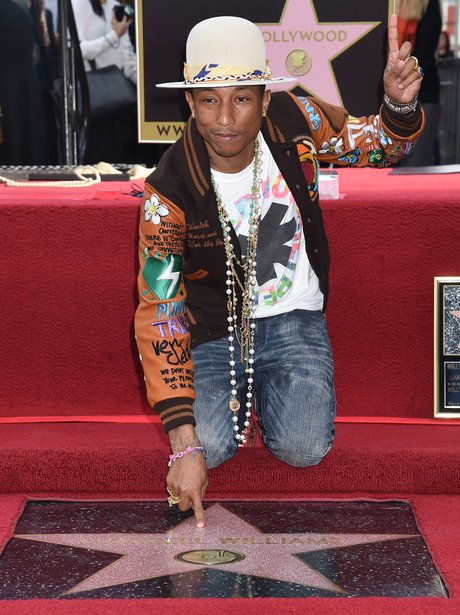 Pharrell Hollywood Walk Of Fame