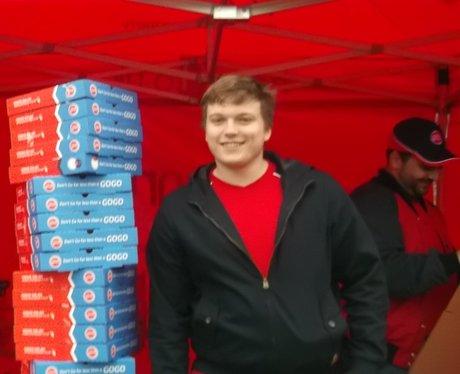 pizza GoGo launch St Albans