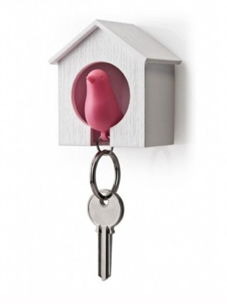 Sparrow Keyring And Key Holder