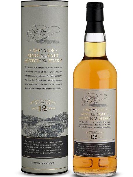 Speyside Single Malt Scotch Whiskey, £28