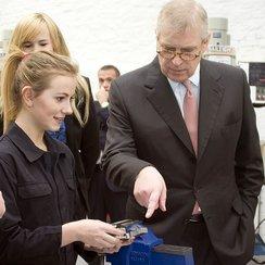 Duke of York opens UTC Swindon