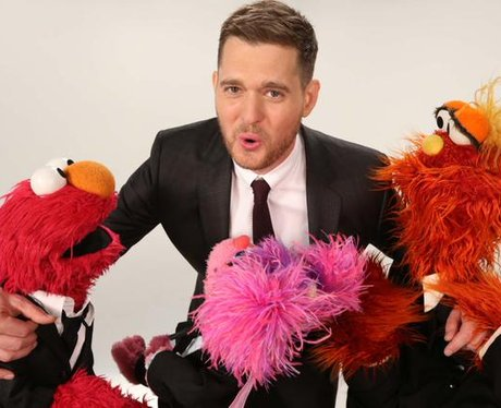 Michael Buble and The Muppets