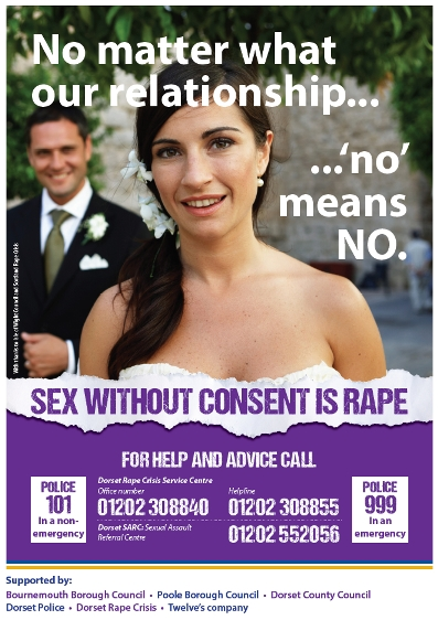Dorset Police sexual violence poster