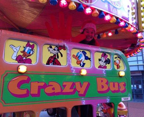 heart angel on fairground ride