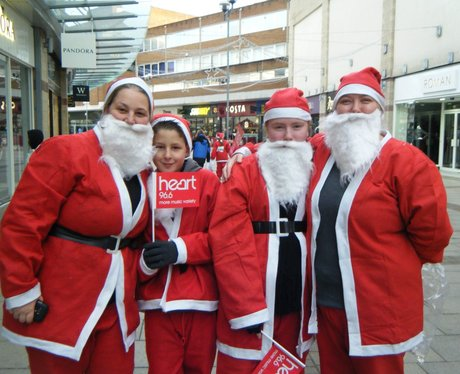 Hemel Hempstead Santa dash 2014