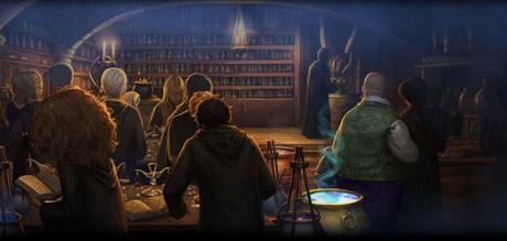 Snape teaching