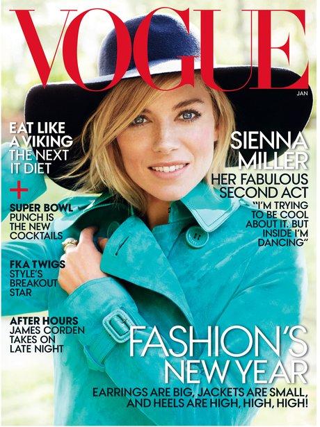 Sienna Miller Vogue Magazine