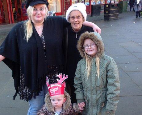 family of ladies