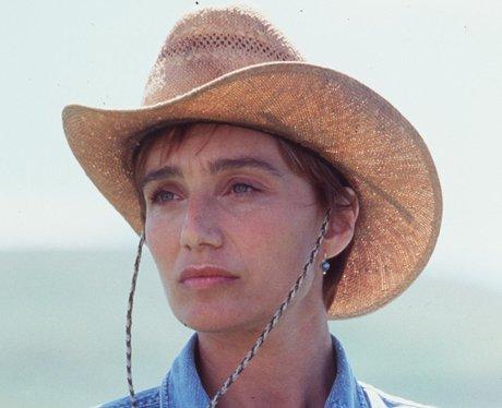 Kristen Scott Thomas in 'The Horse Whisperer'
