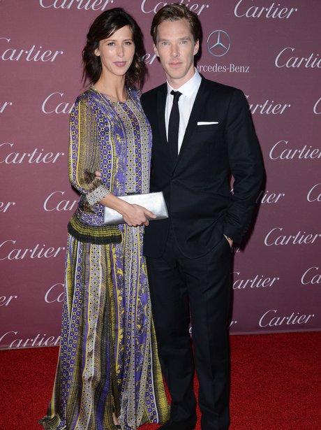Benedict Cumberbatch & his wife