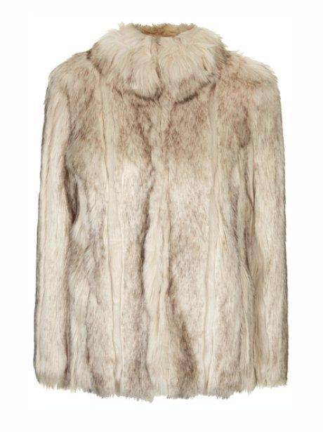 Topshop Chunky Faux Fur Coat, £89