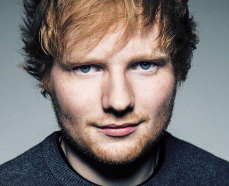 Ed Sheeran with red hair