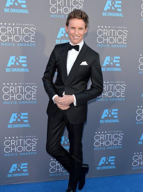 Eddie Redmayne Critics' Choice Movie Awards