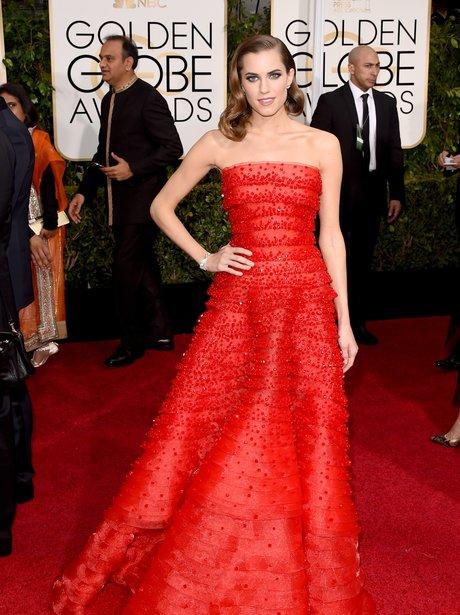 Golden Globes 2015 Alison Williams