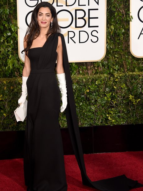 Golden Globes 2015 Amal Alamuddin