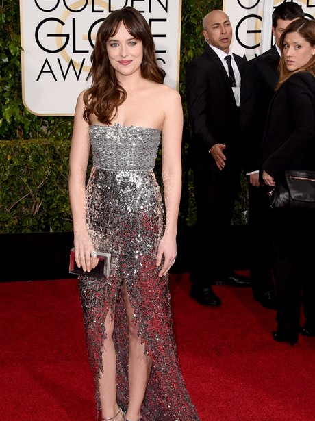 Golden Globes 2015 Dakota Johnson