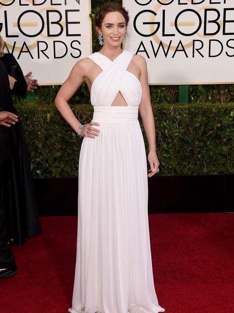 Golden Globes 2015 Emily Blunt