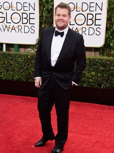 Golden Globes 2015 James Corden