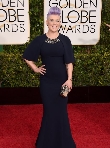 Golden Globes 2015 Kelly Osbourne