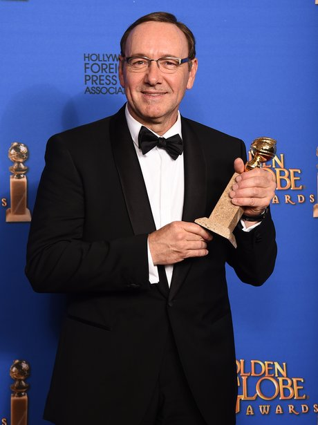 Golden Globes 2015 kevin spacey