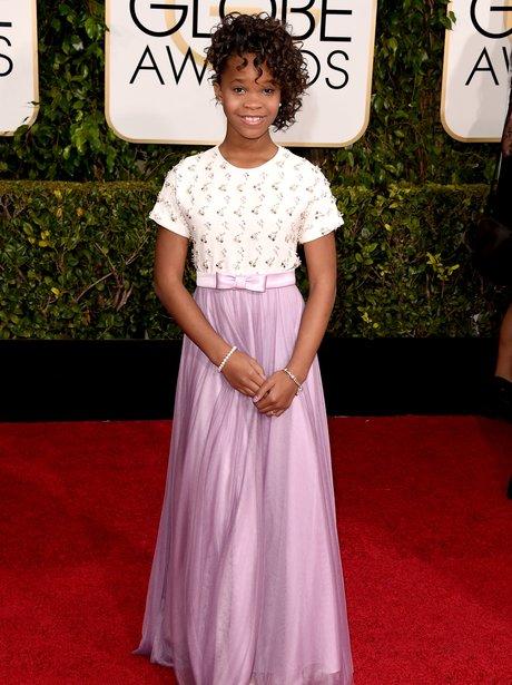 Golden Globes 2015 Quvenzhane Wallis
