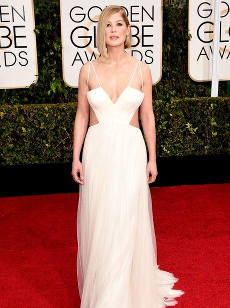 Golden Globes 2015 Rosamund Pike